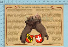 Ours  Bears- Die Geschichte Vom Barengraben In Bern, Description De L'histoire  Barengraden à Berne - BE Berne