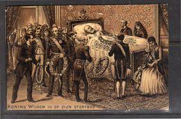 Koning Willem III Op Z'n Sterfbed (k22-42) - Cartes