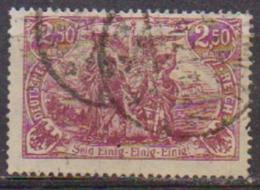 GERMANIA REICH IREP.DI WEIMAR  1920 ALTI VALORI MODIFICATI UNIF. 115 USATO VF - Deutschland