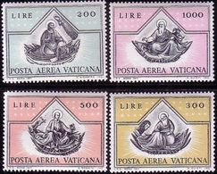 Vatican 1971, Mi 590 - 593. The Gospel, Luke, Matthew, Mark, John.   MNH ** - Vaticano