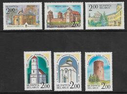 Belarus SG8-13 1992 Ancient Buildings And Monuments Set 6v Complete Unmounted Mint [36/30244/6D] - Belarus