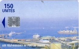 MAROCCO : MORCT1 150u Port Of TANGER USED - Maroc
