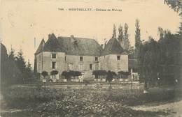 """CPA FRANCE 71 """"Montbellet, Château De Mercey"""" - France"""
