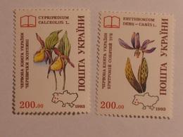 UKRAINE  1994  Lot # 4  FLOWERS - Ukraine