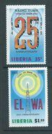 Liberia 1979 ELWA Radio Set Of 2 MNH - Liberia