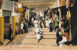 Tunisie )  TUNIS  - Souk El Grana  (  Magasin A La Ville De Thiers Félix Perez  ) - Tunisia