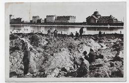 (RECTO / VERSO) SAINT MALO EN 1932 - N° 103 - VUE SUR LE CASINO ET L' HOTEL FRANKLIN - BEAU CACHET - CPA VOYAGEE - Saint Malo