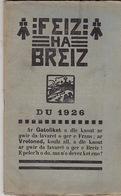 Feiz Ha Breiz. Du 1926. N°11. Ar C'Horn-Boud. Du 1926. N° 11. - Livres, BD, Revues