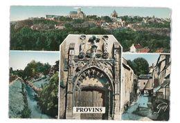 CPSM 77 PROVINS MULTIVUES - Provins