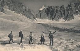 H38 - 74 - ARGENTIÈRE - Haute-Savoie - Le Glacier Et Le Mont Dolent - Autres Communes
