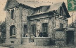 H38 - 76 - BOUVILLE - Seine Maritime - Le Bureau De Poste - Frankrijk