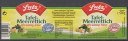 Et032 - Label Horseradish - Fruits & Vegetables