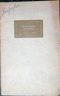 PASTEUR JURA DOLE  PLAQUETTE D'HOMMAGE A LOUIS PASTEUR PAR MARINESCO 1927 25 BESANCON FRANCHE COMTE - Livres, BD, Revues
