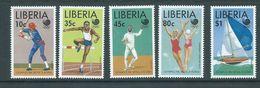 Liberia 1988 Seoul Olympic Games Set 5 MNH - Ete 1988: Séoul
