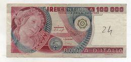 """Italia - Banconota Da Lire 100.000 """" Botticelli """" - Decreto 20.06.1978 - (FDC8133) - [ 2] 1946-… : Républic"""