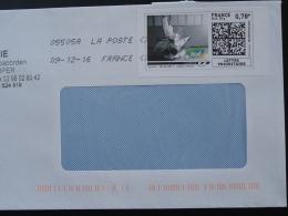 Judo Timbre En Ligne Sur Lettre (e-stamp On Cover) TPP 3720 - Judo