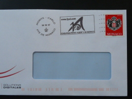 14/12/2017 Fondation Prince Albert II Flamme Monaco Sur Lettre Postmark On Cover - Storia Postale