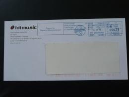 Rapport De Reprise D'affranchissement 46 Cahors EMA Sur Lettre Slogan Meter On Cover - Marcophilie (Lettres)