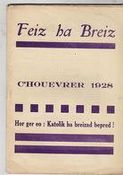 Feiz Ha Breiz. C'Houevrer 1928. N° 2. - Livres, BD, Revues