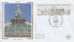 Enveloppe  FDC  Vignette  LISA   Congrés  Des   Associations   PARIS    2006 - 1999-2009 Viñetas De Franqueo Illustradas