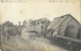 Déraillement Du Train Sur La Ligne La Voulte-Le Cheylard à Bellevue (Dunière-sur-Eyrieux) Ardèche - Trenes