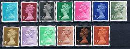 Großbritannien 561 - 573 - Freimarken Elisabeth - Machin - 1952-.... (Elizabeth II)