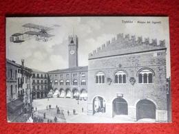 TREVISO AVION SURVOLANT LA PIAZZA DEL SIGNORI 1911 - Treviso