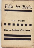 Feiz Ha Breiz. Du 1928. N°11. - Livres, BD, Revues