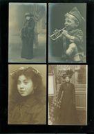 Beau Lot De 60 Cartes Photos ( Photo ) Inconnu à Identifier Personnes   Mooi Lot Van 60 Fotokaarten  Onbekend Personen - Cartes Postales