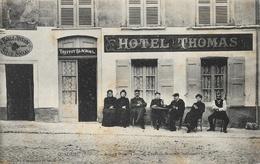 Condrieu (Rhône) - Ancien Hôtel Thomas Treffot-Blachon - La Boule Joyeuse - Carte Bergeret Non Circulée - Hotels & Restaurants