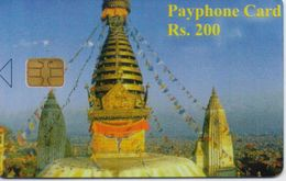 NEPAL PHONECARD TEMPLE/NEPAL TELECOM FIRST EDITION(no Cn)-SAMPLE(bx1) - Nepal
