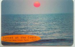 Sunset At The Coast - Namibia