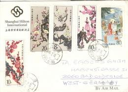 China 2002/05,2021 Auf Brief Nach Deutschland - Briefe U. Dokumente