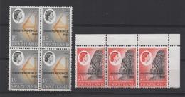 LOT DE 7 TIMBRES NEUF  SWAZILAND INDEPENDANCE 1968 - Swaziland (1968-...)