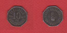 Hall / 10 Pfennig 1918  / TTB+ - Monetary/Of Necessity