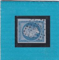 N° 14 Ae Bleu Sur Lilas  PC 612  CARCASSONNE  /  AUDE   - REF 11940  + VARIETE Cote 80€ - 1853-1860 Napoléon III