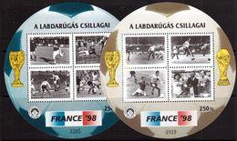 Hungary-1998,souvenir Bl. Football, Soccer, Fussball,calcio, MNH - Coupe Du Monde