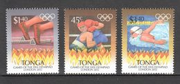 B369 TONGA SPORT OLYMPIC GAMES LONDON 2012 1SET MNH - Sommer 2012: London
