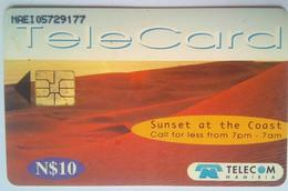 Sunset On The Coast - Namibia