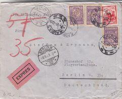 Lituanie - Lettre Exprès De 1929 ° - Oblit Kaunas - Exp Vers Berlin - Cachet De Berlin - Lituania