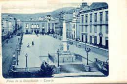 ESPAGNE TENERIFE PLAZA DE LA CONSTITUCION - Tenerife