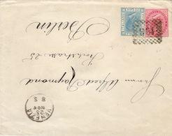ITALIA-REGNO-LETTERA VIAGGIATA CON AFFRANCATURA MISTA COME DA FOTO - 1861-78 Vittorio Emanuele II
