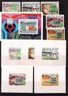 Upper Volta-1978(Mi.740-744,Bl.52+5 Luxe-bl.),Football, Soccer, Fussball,calcio, MNH - World Cup