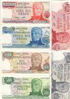 Argentina Lot 6 Banknotes San Martin UNC .C. - Argentina