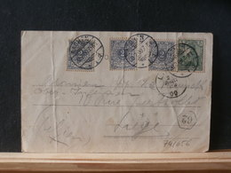 74/656   CP. ALLEMAGNE POUR LA BELG.1900 - Germany