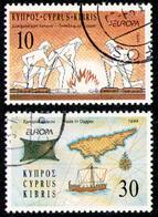 CYPRUS 1994 - Set Used - Chypre (République)