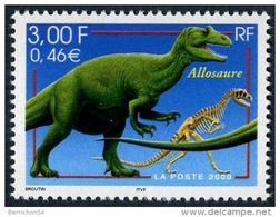 Timbre France N° 3334 - 2000 - Neuf Allosaure - Unused Stamps
