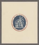 EX-LIBRIS Société Des Amis De La Constitution à Thann - Ex-libris
