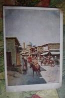 Uzbekistan. Tashkent. Old City. Old Street By Zommer - OLD USSR PC 1920s - ISLAM - Uzbekistan