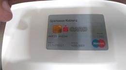 Germany-credict Card-(513)-(4092869-1201)-used Card+1 Card Prepiad Free - Geldkarten (Ablauf Min. 10 Jahre)